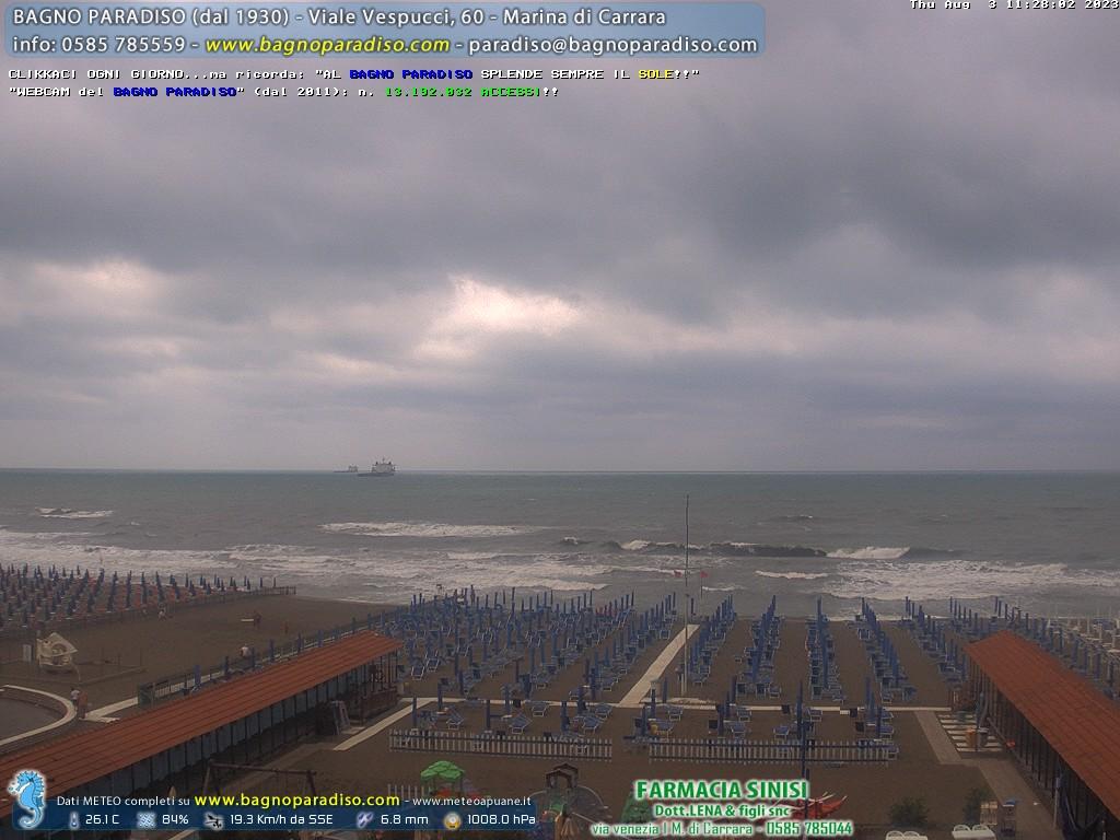Webcam Marina di Carrara (MS)