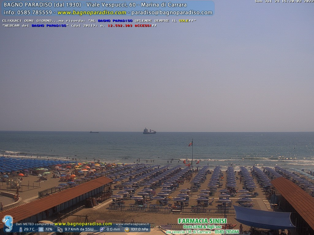 Webcam Marina di Carrara (MS)